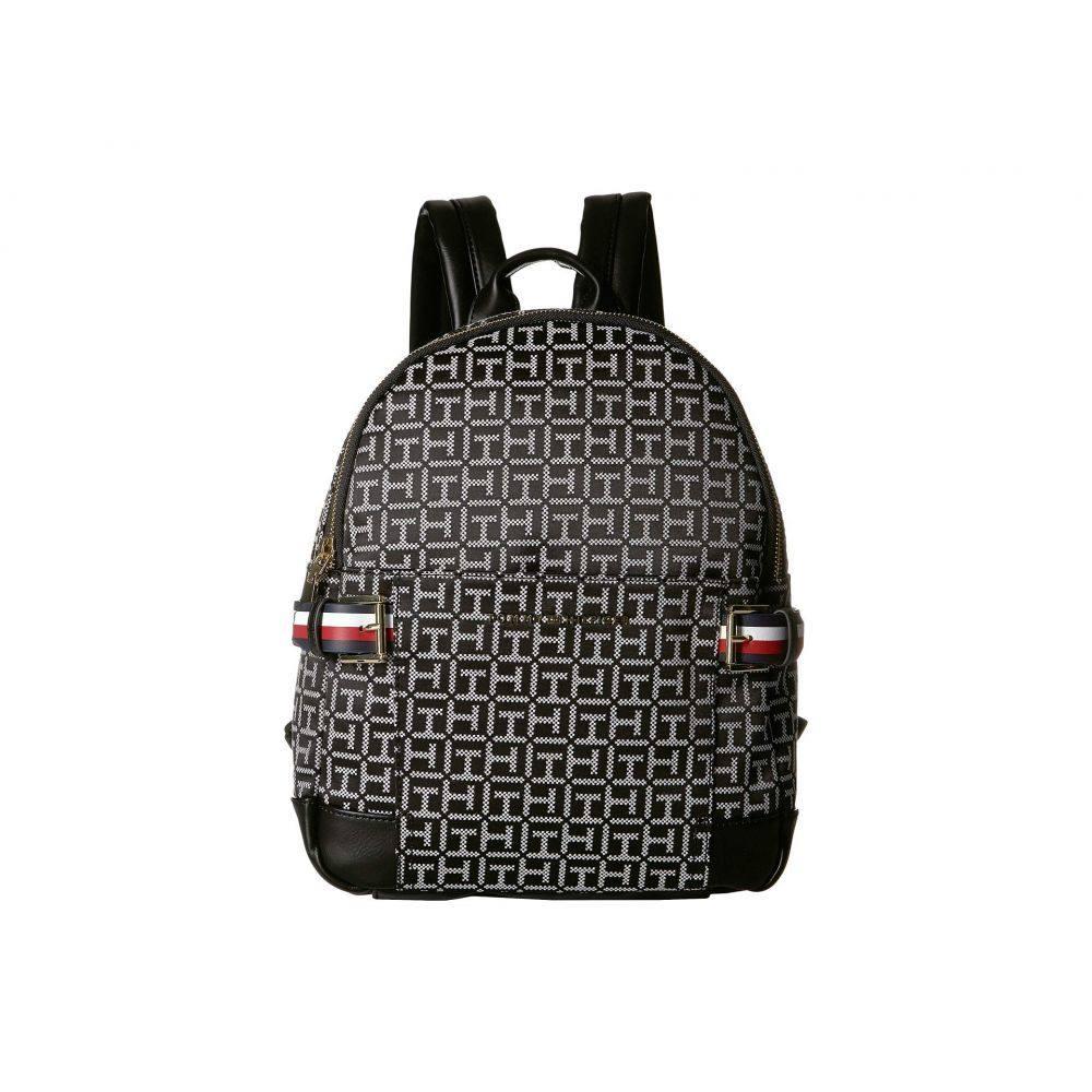 トミー ヒルフィガー Tommy Hilfiger レディース バックパック・リュック バッグ【Meriden Backpack】Black/White