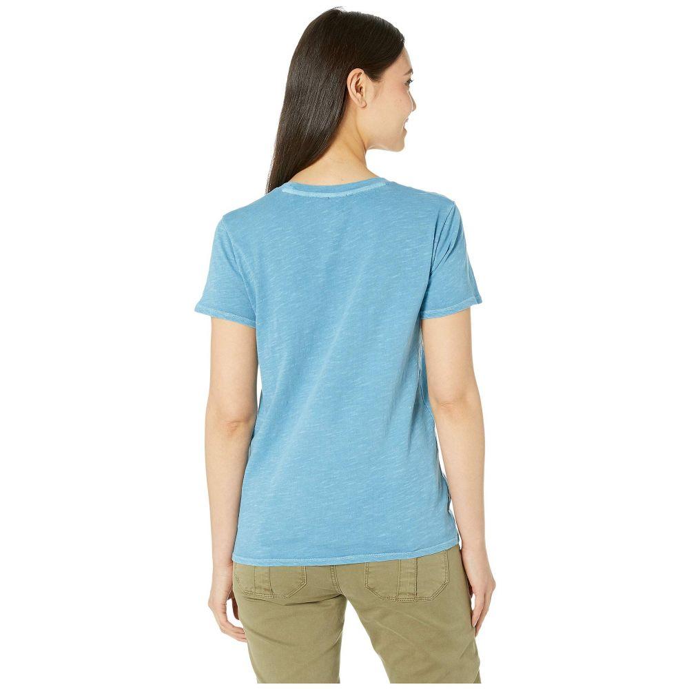 ラッキーブランド Lucky Brand レディース Tシャツ トップス Embroidered Tee NiagraBCoWrdxe