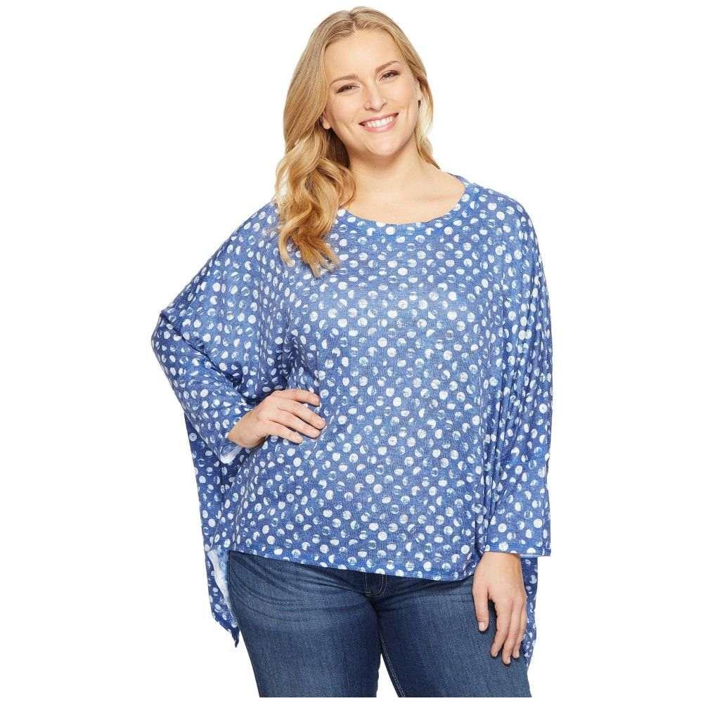 ナリーアンドミリー Nally & Millie レディース Tシャツ 大きいサイズ トップス【Plus Size Black/White Floral Print Oversize Top】Multi