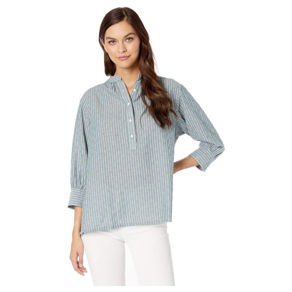 フライ Frye レディース ブラウス・シャツ トップス【Long Sleeve Pullover Shirt】Diamond Jacquard Stripe