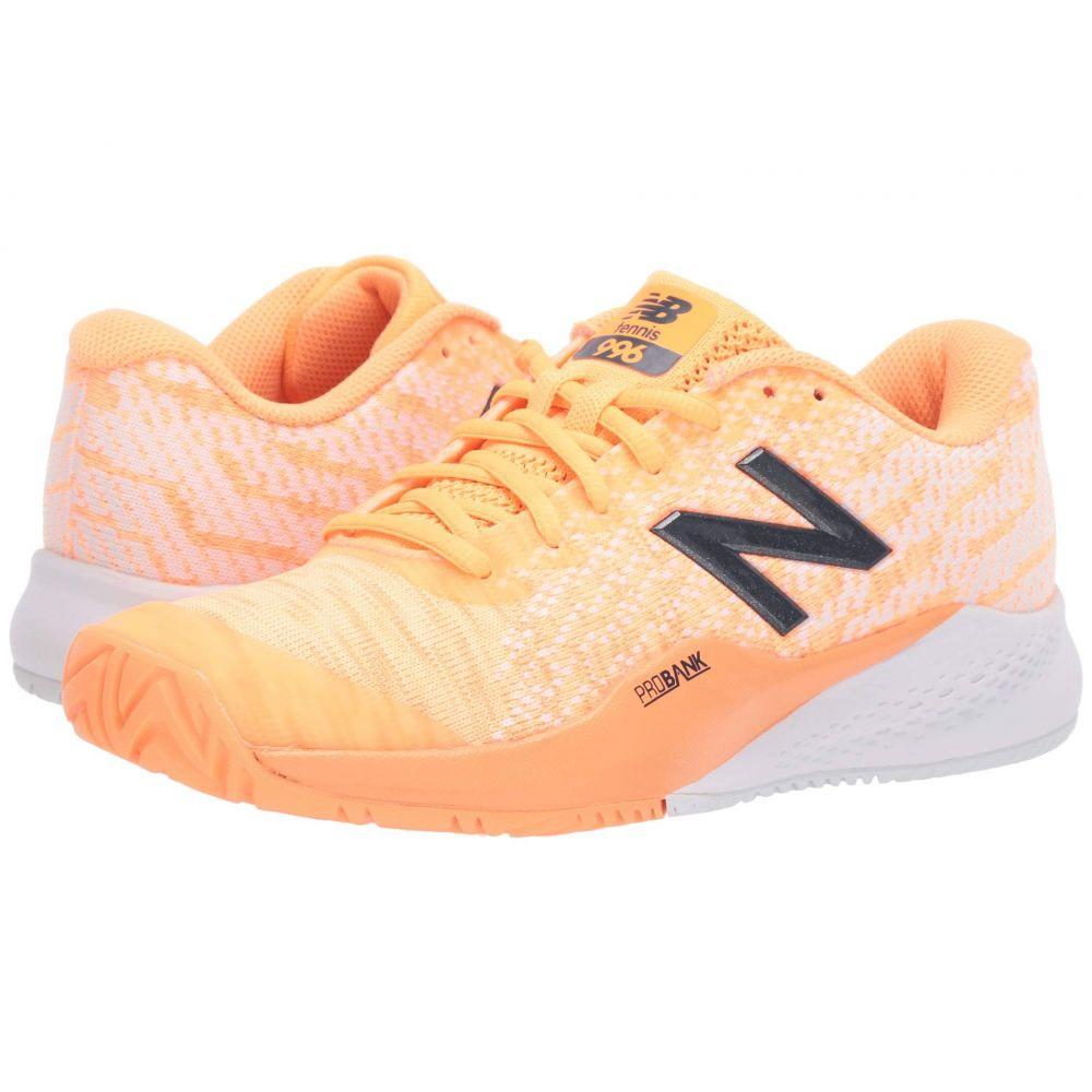 ニューバランス New Balance レディース スニーカー シューズ・靴【WCH996v3】Light Mango/White