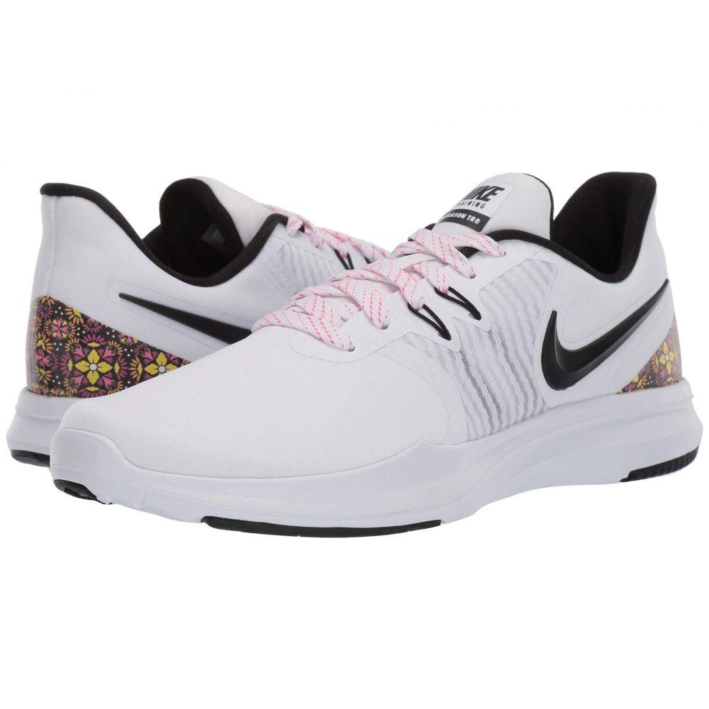 ナイキ Nike レディース スニーカー シューズ・靴【In-Season TR 8 Print】White/Black/Laser Fuchsia