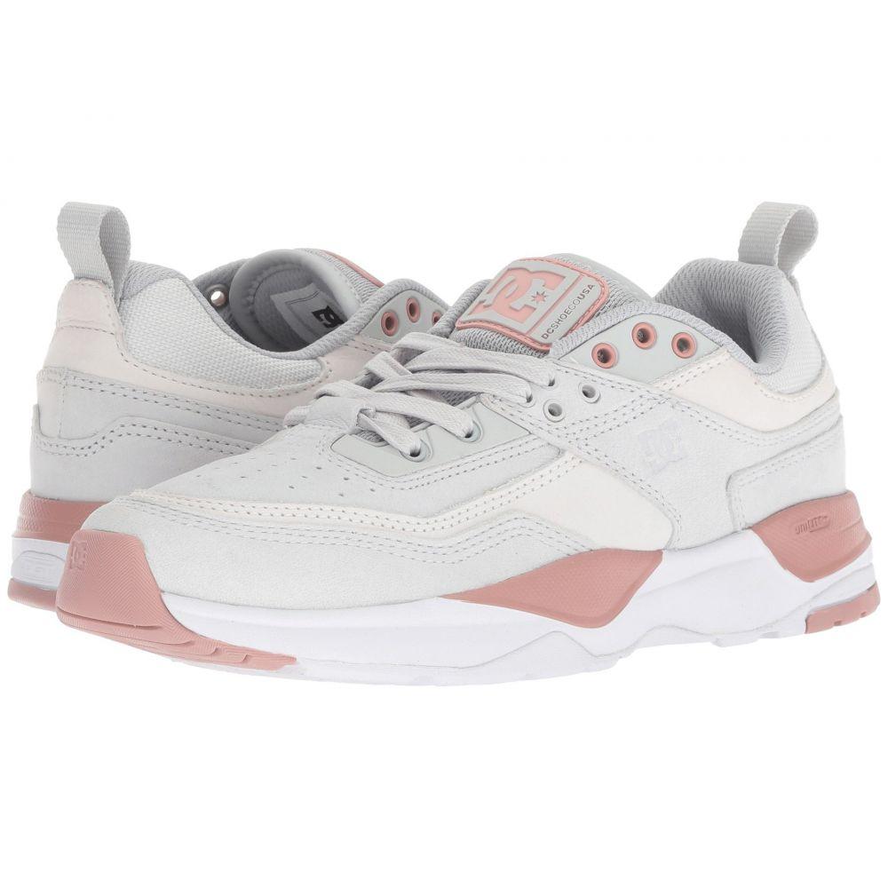 ディーシー DC レディース スニーカー シューズ・靴【E.Tribeka】Grey/Pink