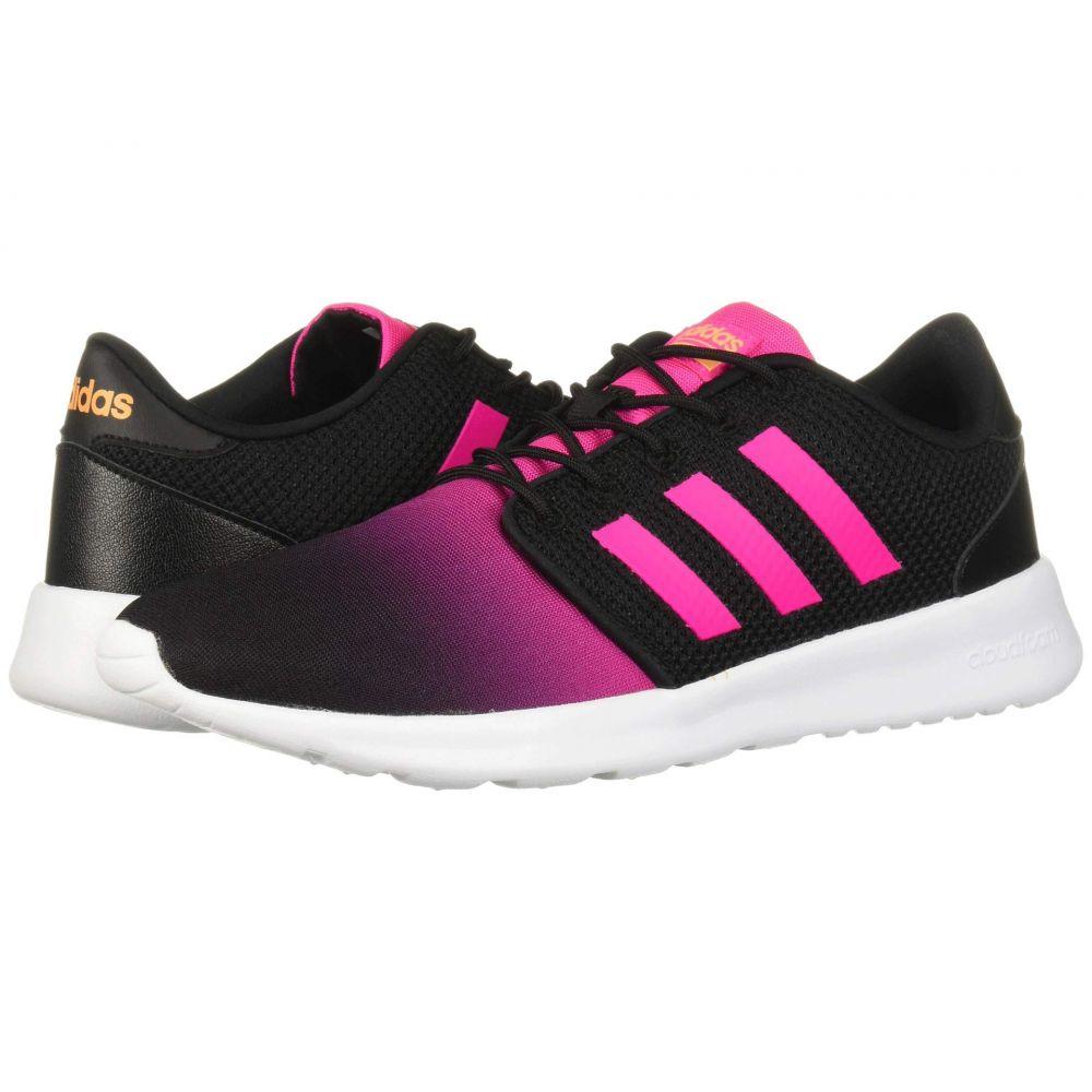 アディダス adidas レディース ランニング・ウォーキング シューズ・靴【Cloudfoam QT Racer】Core Black/Shock Pink/Flash Orange