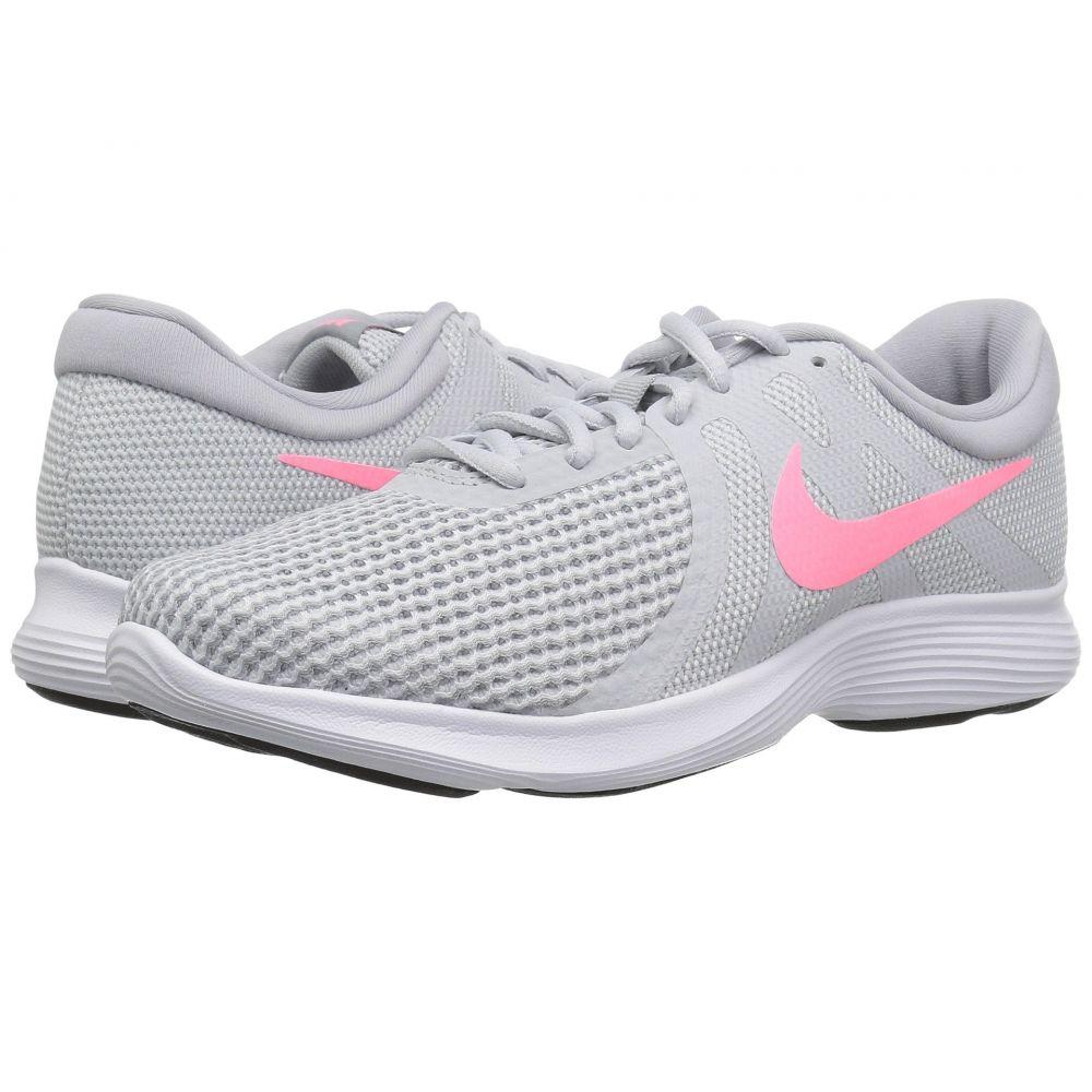 ナイキ Nike レディース ランニング・ウォーキング シューズ・靴【Revolution 4】Pure Platinum/Sunset/Pulse/Wolf Grey
