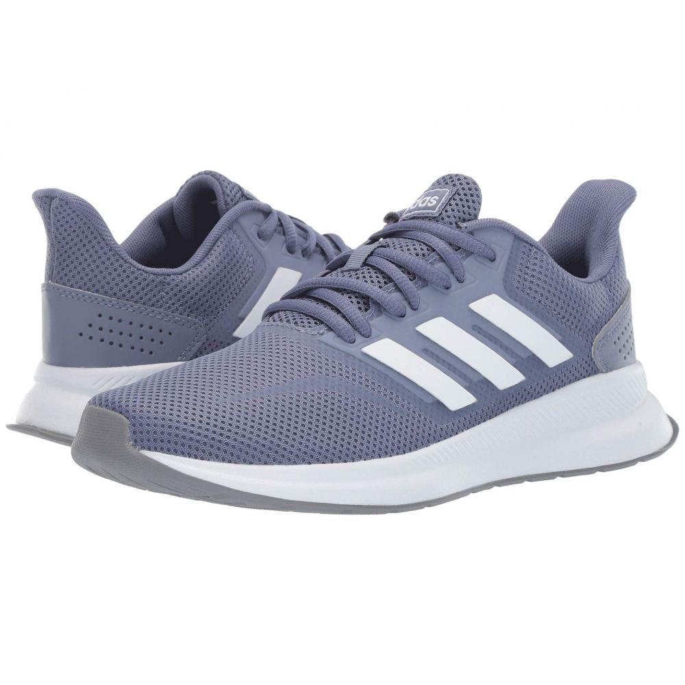 アディダス adidas レディース ランニング・ウォーキング シューズ・靴【Falcon】Raw Indigo/Footwear White/Grey Three F