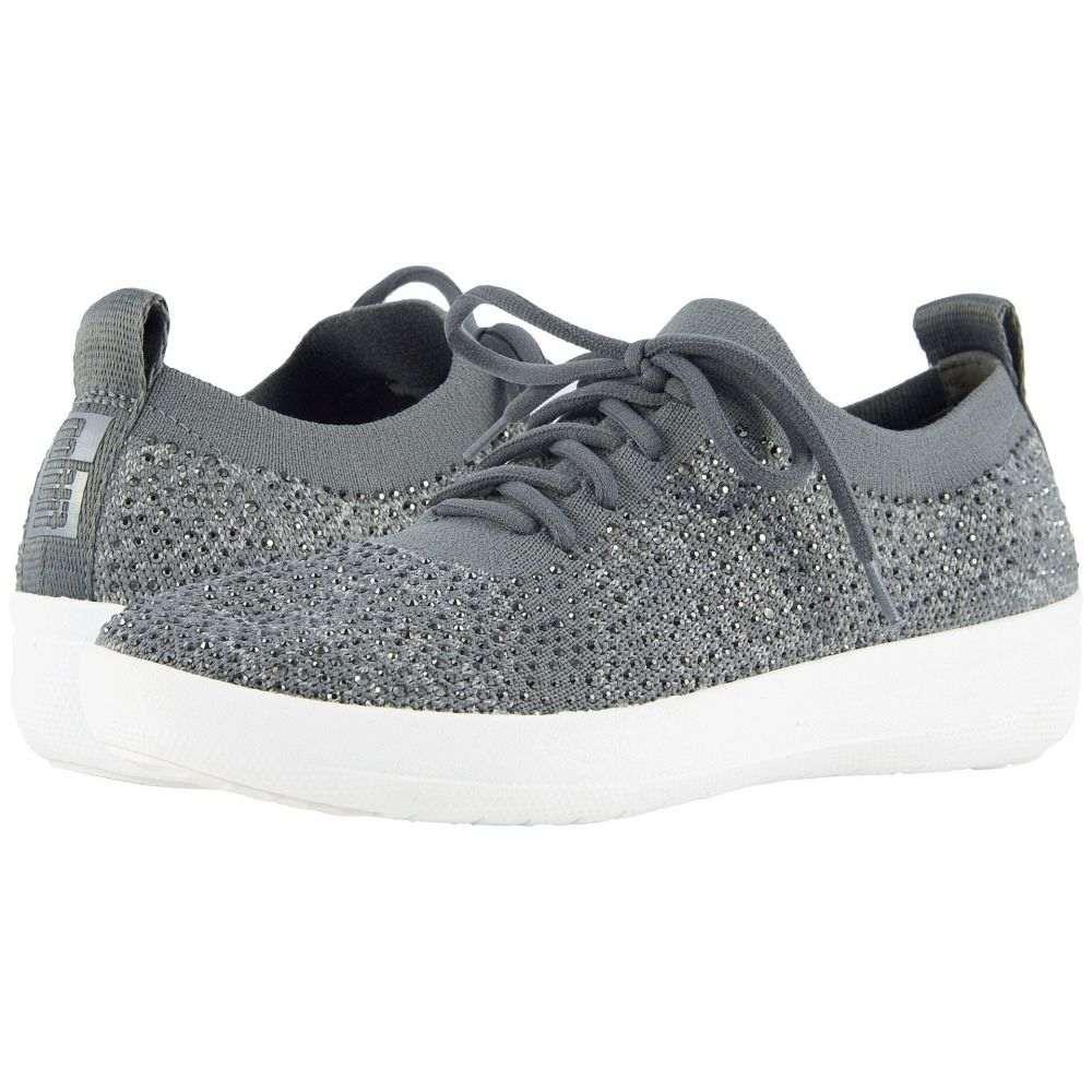 フィットフロップ FitFlop レディース スニーカー シューズ・靴【F-Sporty Uberknit Sneakers】Charcoal/Dusty Grey