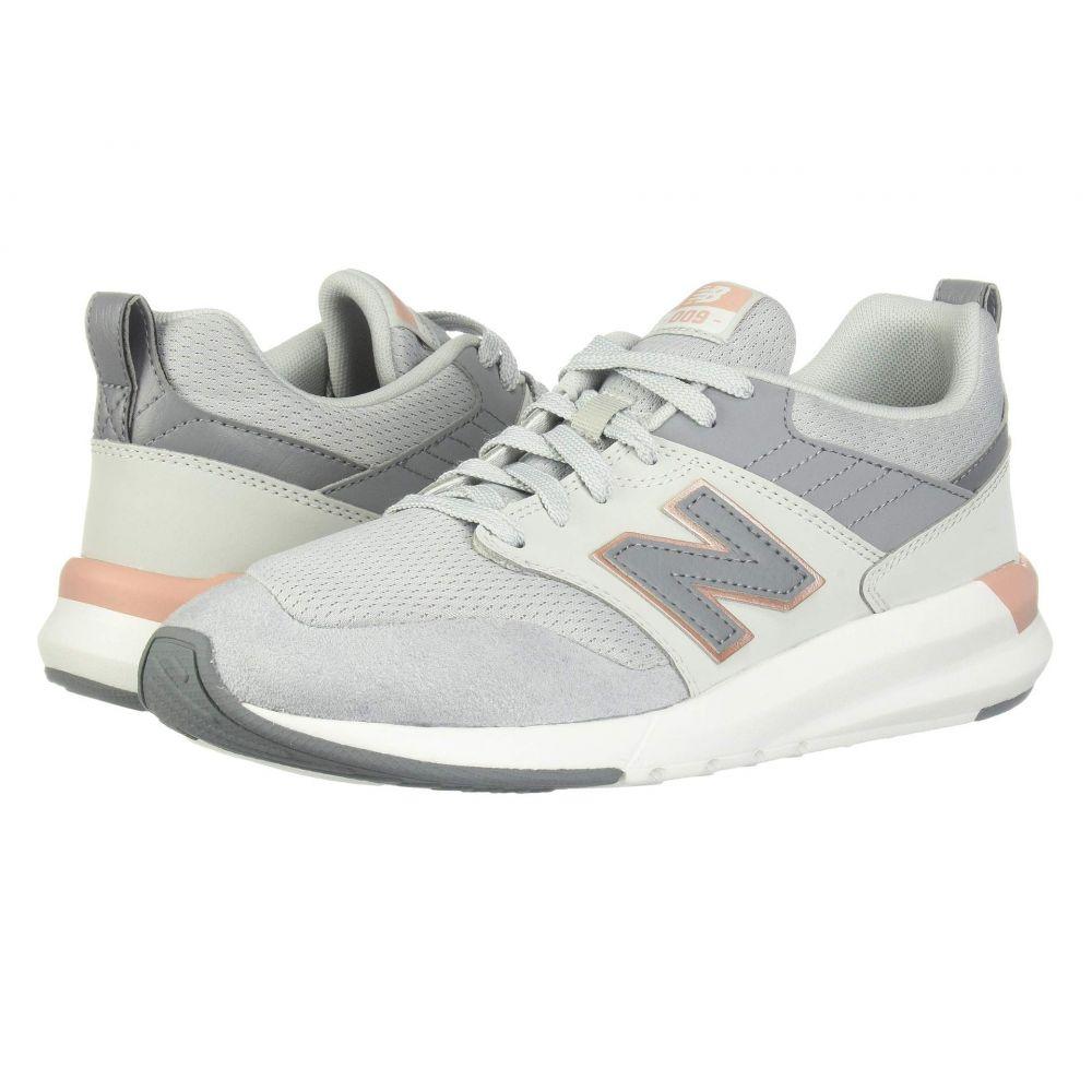ニューバランス New Balance レディース ランニング・ウォーキング シューズ・靴【009 Modern Classic】Light Aluminum/Rose Gold