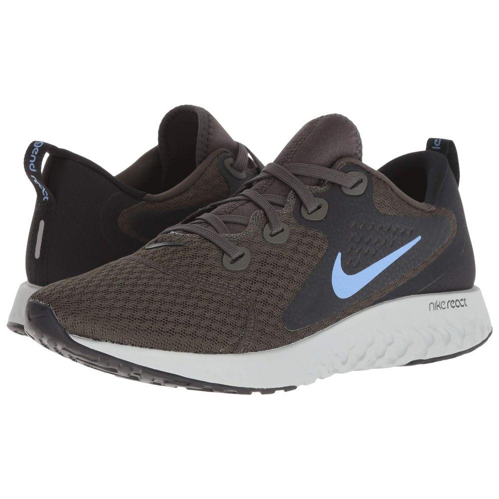ナイキ Nike レディース ランニング・ウォーキング シューズ・靴【Legend React】Newsprint/Royal Pulse/Black/Light Silver