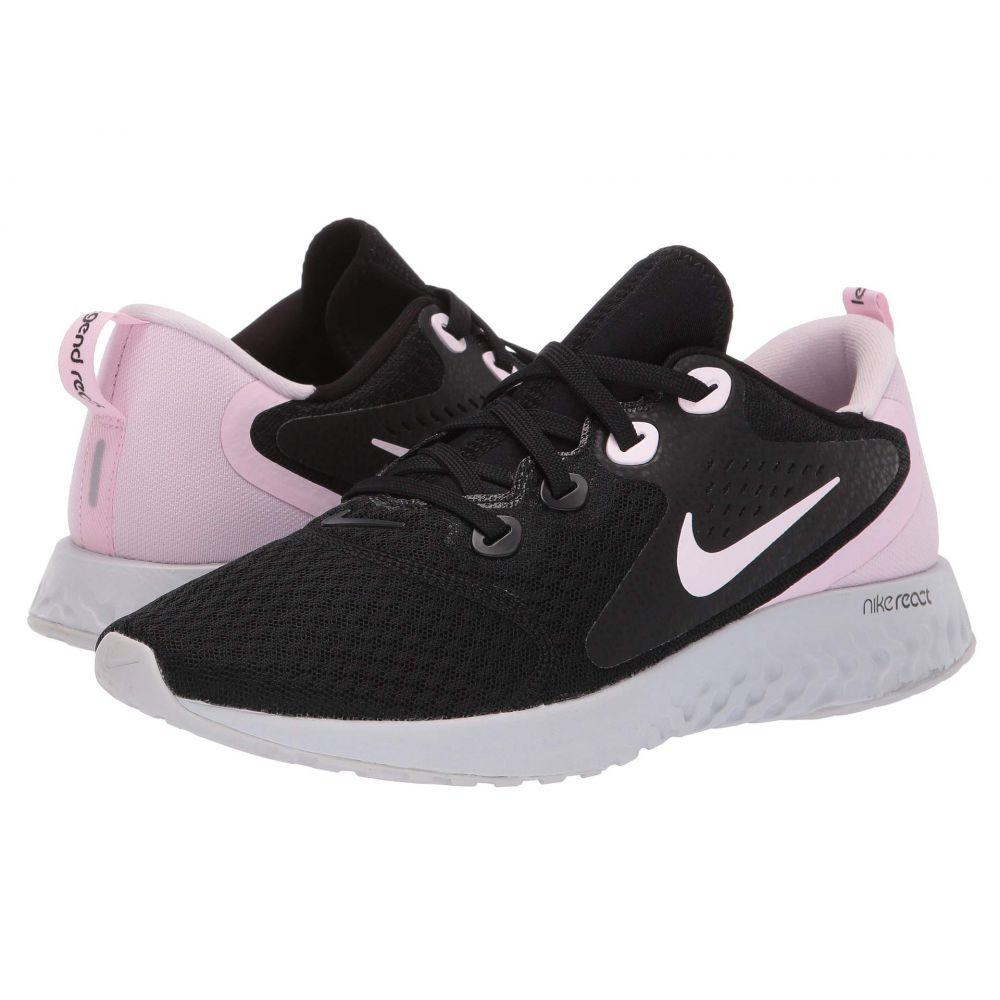 ナイキ Nike レディース ランニング・ウォーキング シューズ・靴【Legend React】Black/Pink Foam/Vast Grey