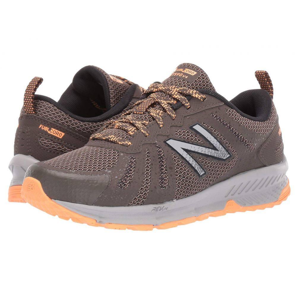 ニューバランス New Balance レディース ランニング・ウォーキング シューズ・靴【Trail 590v4】Light Chalkboard/Mango