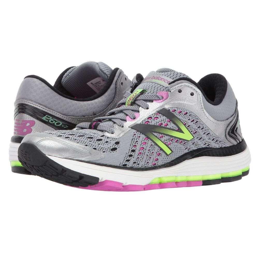 ニューバランス New Balance レディース ランニング・ウォーキング シューズ・靴【1260 V7】Steel/Poisonberry