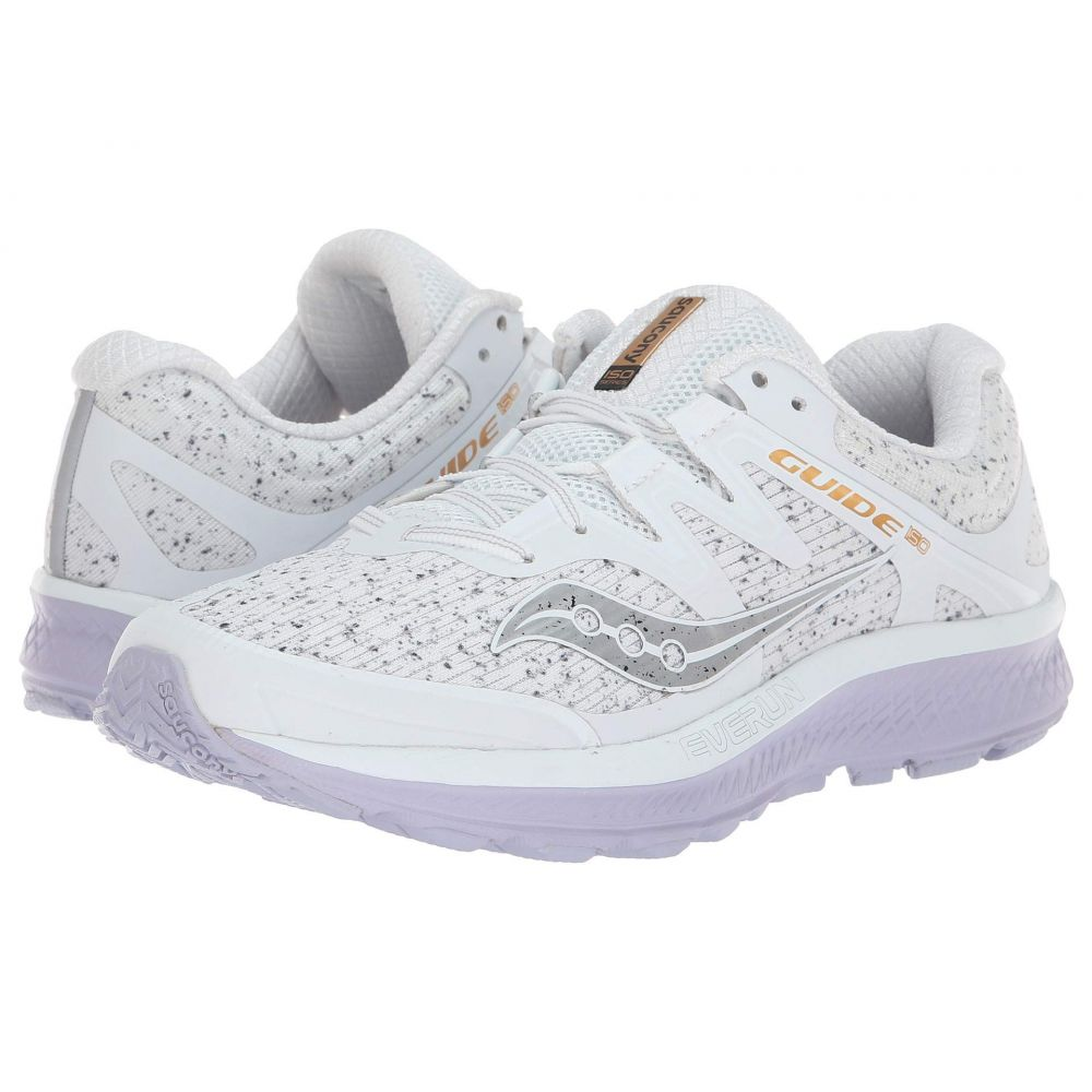 サッカニー Saucony レディース ランニング・ウォーキング シューズ・靴【Guide ISO】White