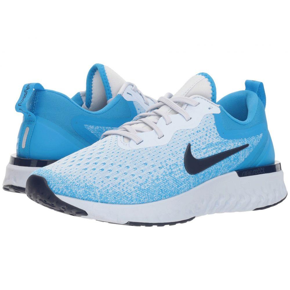 ナイキ Nike レディース ランニング・ウォーキング シューズ・靴【Odyssey React】Football Grey/Blue Void/Blue Hero
