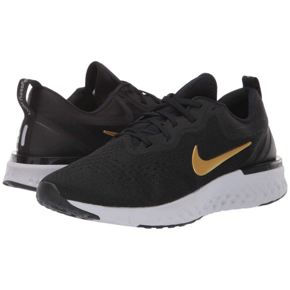 ナイキ Nike レディース ランニング・ウォーキング シューズ・靴【Odyssey React】Black/Metallic Gold/Vast Grey