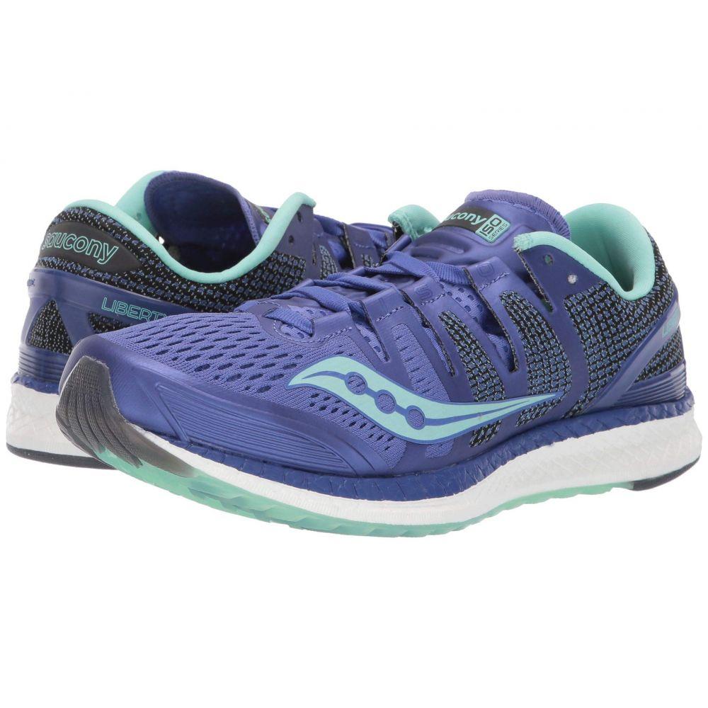 サッカニー Saucony レディース ランニング・ウォーキング シューズ・靴【Liberty ISO】Violet/Aqua