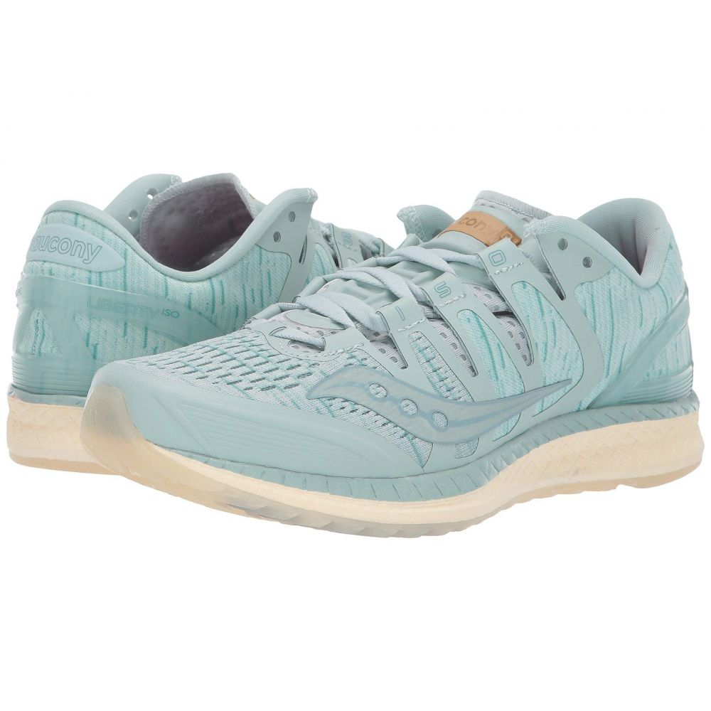 サッカニー Saucony レディース ランニング・ウォーキング シューズ・靴【Liberty ISO】Aqua/Shade