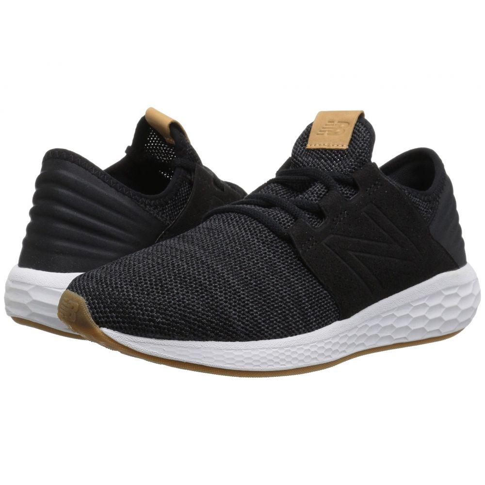 ニューバランス New Balance レディース ランニング・ウォーキング シューズ・靴【Fresh Foam Cruz v2 Knit】Black/Magnet