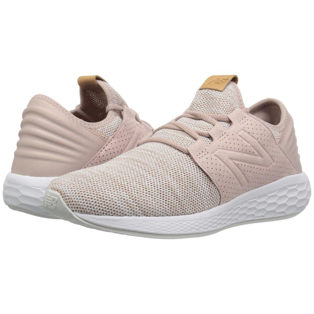 ニューバランス New Balance レディース ランニング・ウォーキング シューズ・靴【Fresh Foam Cruz v2 Knit】Charm/White