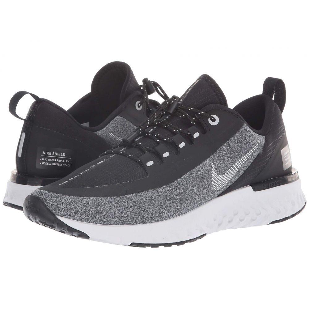 ナイキ Nike レディース ランニング・ウォーキング シューズ・靴【Odyssey React Shield】Black/Metallic Silver/Cool Grey