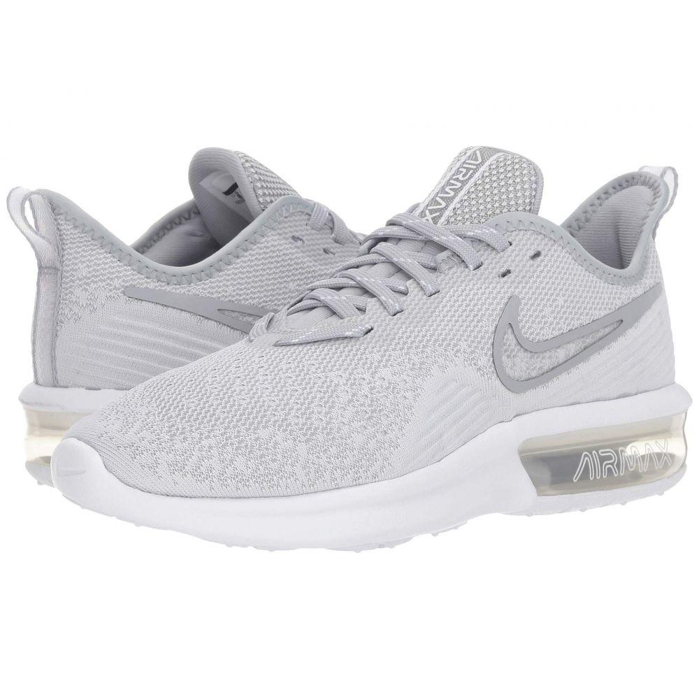 ナイキ Nike レディース ランニング・ウォーキング エアマックス シューズ・靴【Air Max Sequent 4】White/White/Wolf Grey