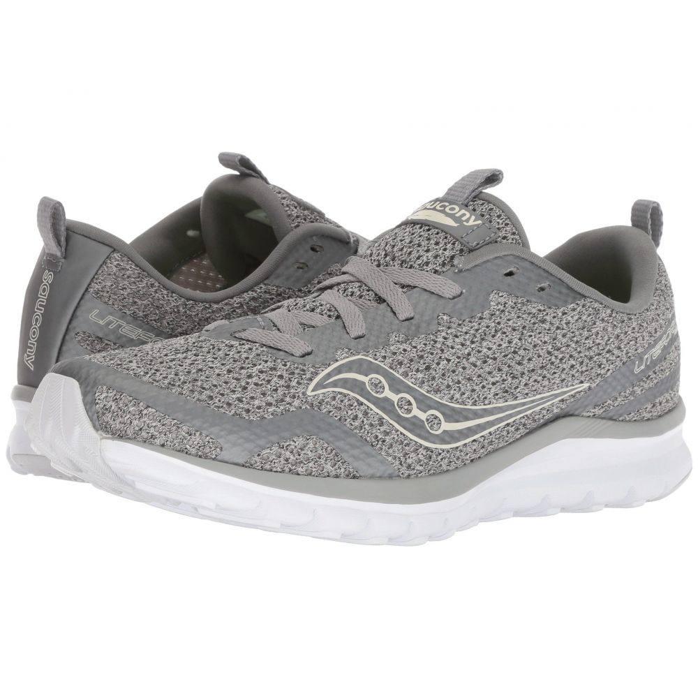 サッカニー Saucony レディース ランニング・ウォーキング シューズ・靴【Liteform Feel】Grey/Silver