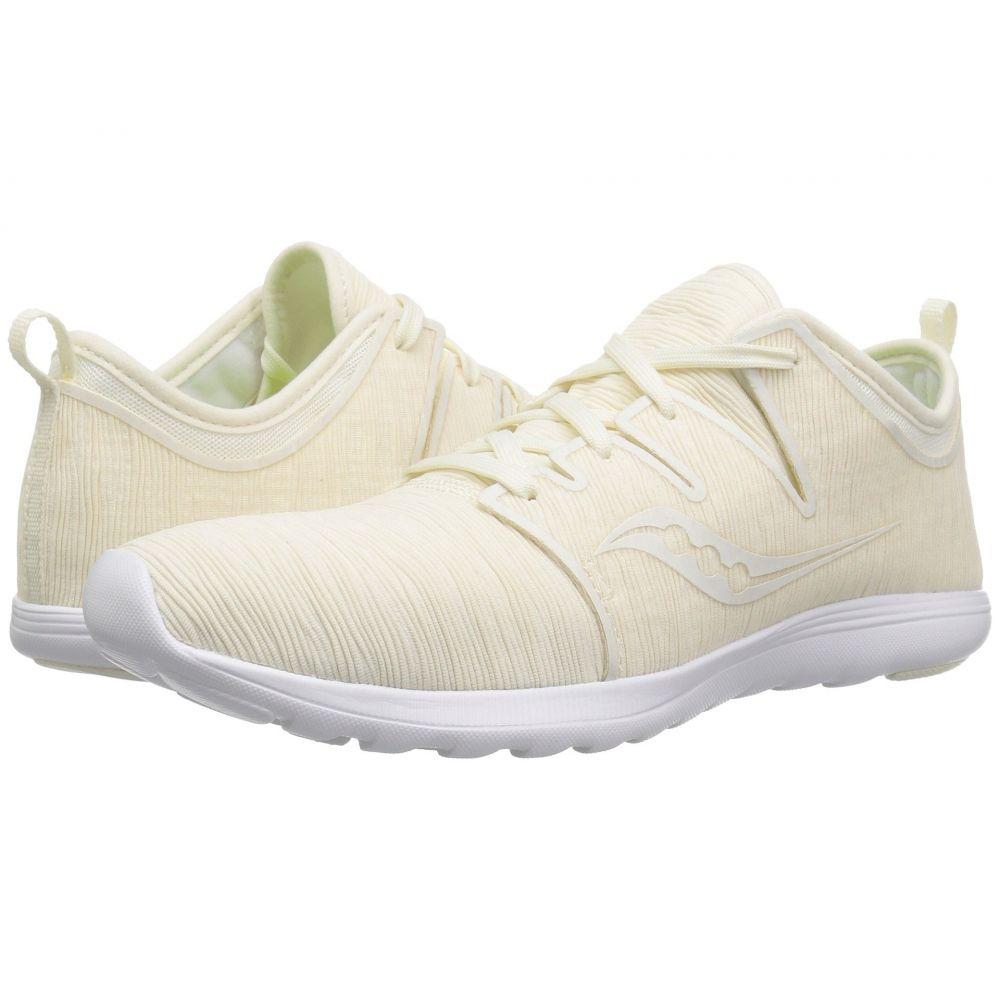 サッカニー Saucony レディース ランニング・ウォーキング シューズ・靴【Eros Lace】Off-White