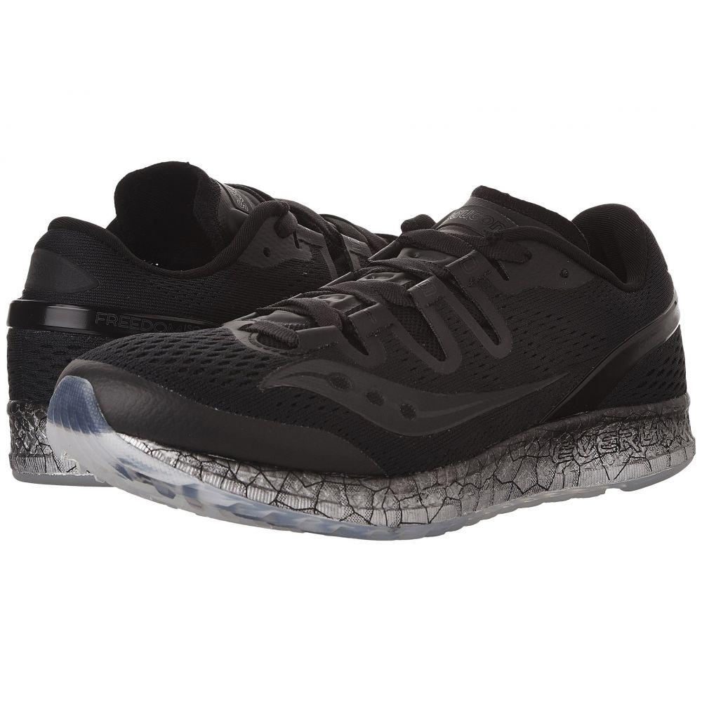 サッカニー Saucony レディース ランニング・ウォーキング シューズ・靴【Freedom ISO】Black