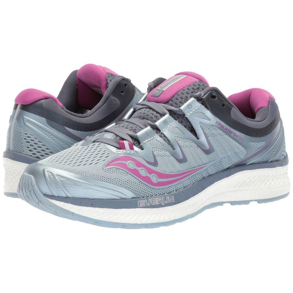 サッカニー Saucony レディース ランニング・ウォーキング シューズ・靴【Triumph ISO 4】Fog/Grey/Purple