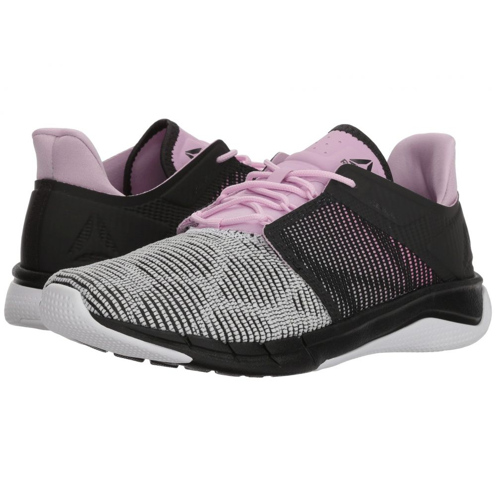 リーボック Reebok レディース ランニング・ウォーキング シューズ・靴【Flexweave Run】Coal/Acid Pink/Moonglow/White