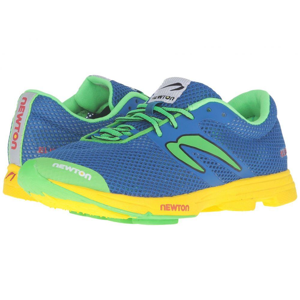 ニュートンランニング Newton Running レディース ランニング・ウォーキング シューズ・靴【Distance Elite】Blue/Green