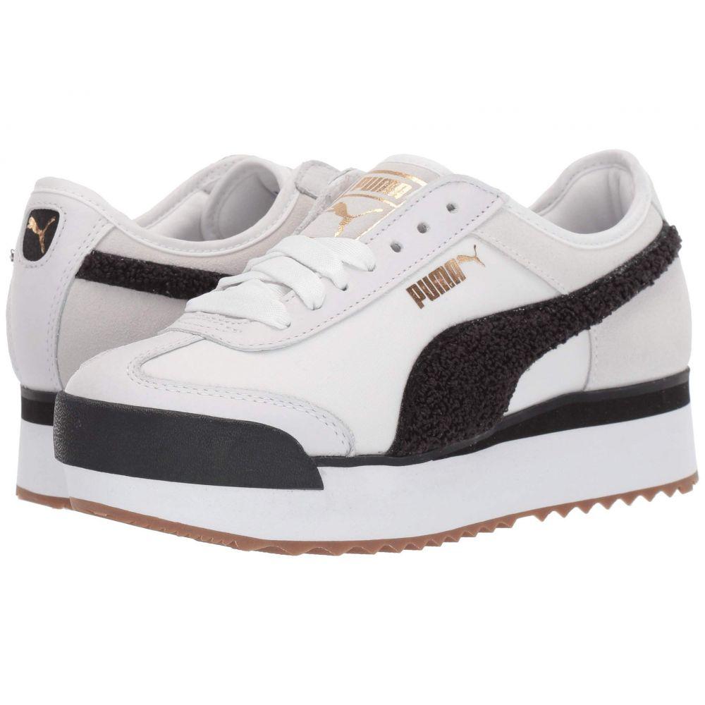プーマ PUMA レディース スニーカー シューズ・靴【Roma Amor Heritage】Puma White/Puma Black