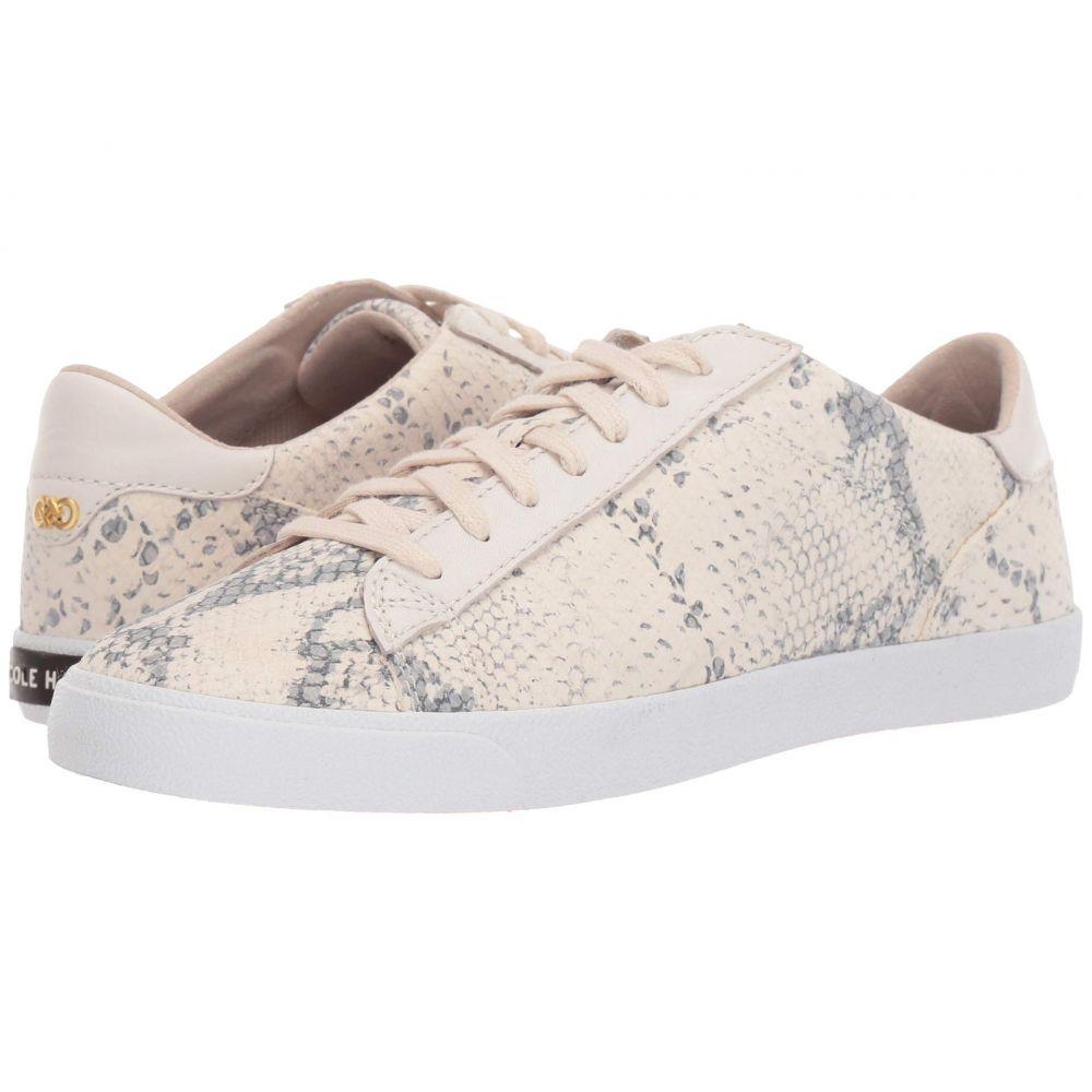 コールハーン Cole Haan レディース スニーカー シューズ・靴【Carrie Sneaker】Chalk Python Print Leather