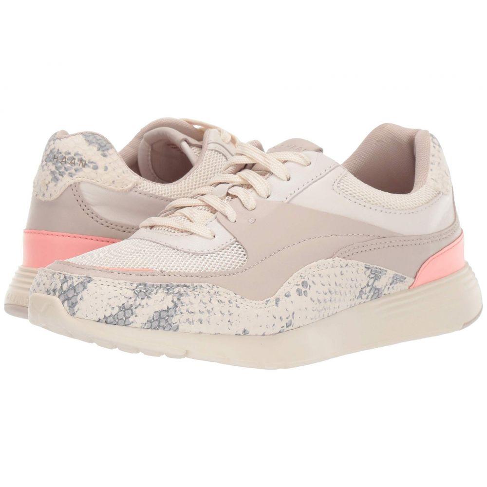 コールハーン Cole Haan レディース スニーカー シューズ・靴【Grand Crosscourt Light Sneaker】Ivory/Chalk Python Print Leather Multi
