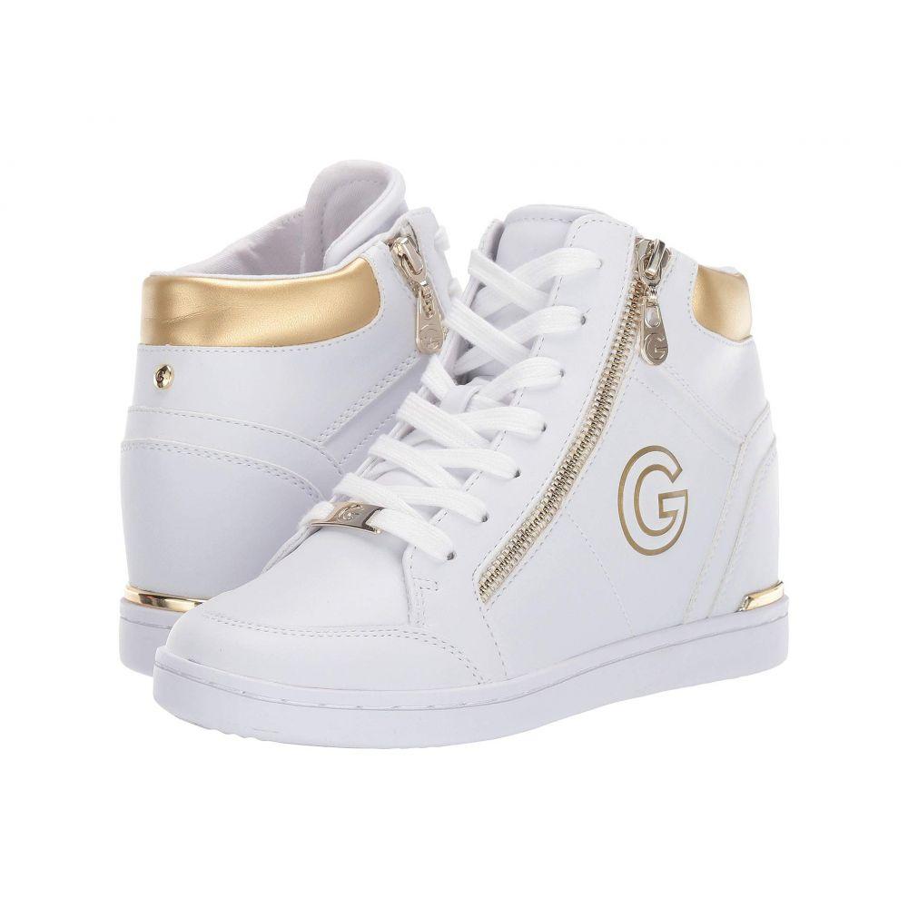 ゲス G by GUESS レディース スニーカー シューズ・靴【Dillin】White/Oro