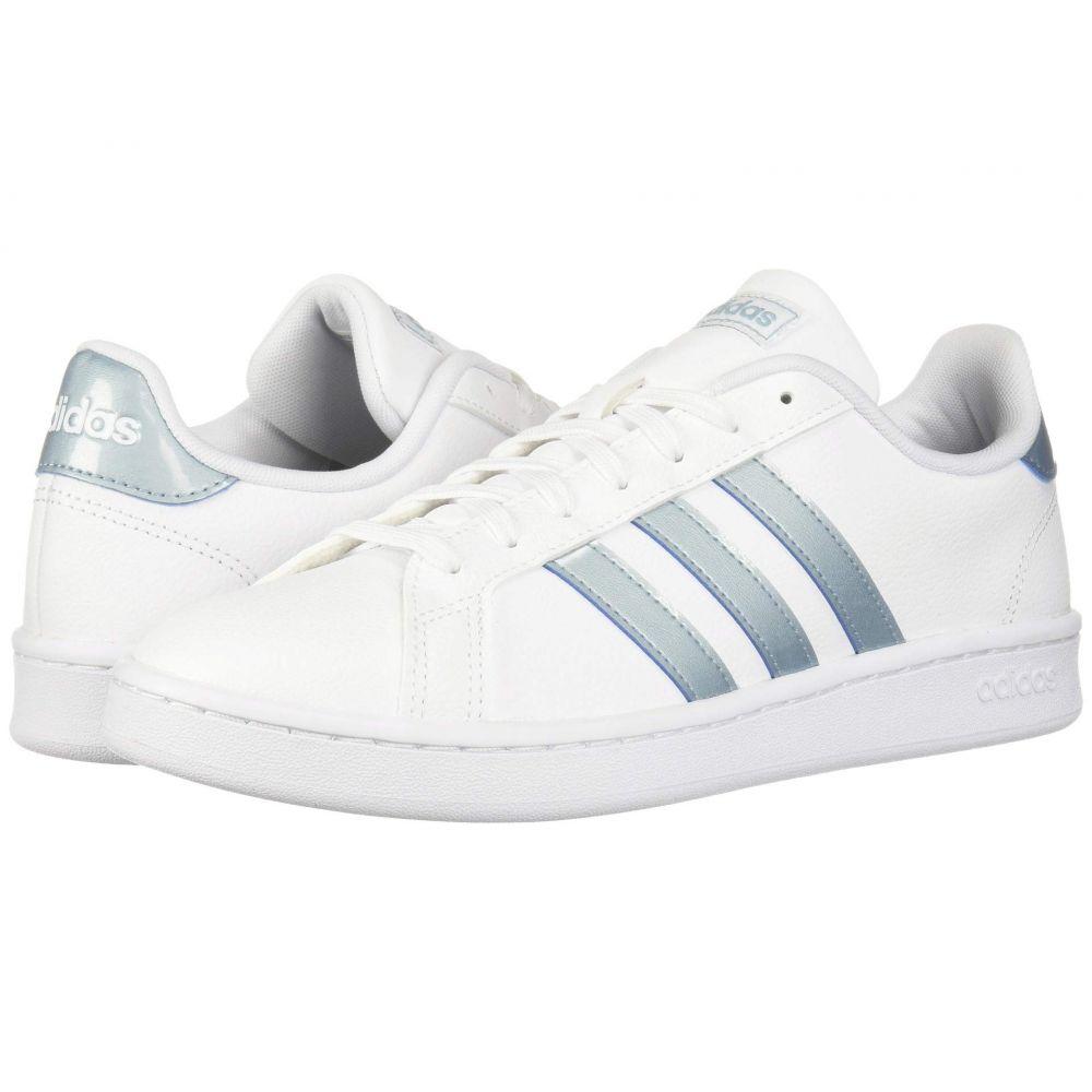 アディダス adidas レディース スニーカー シューズ・靴【Grand Court】White/Ash Grey/Light Granite