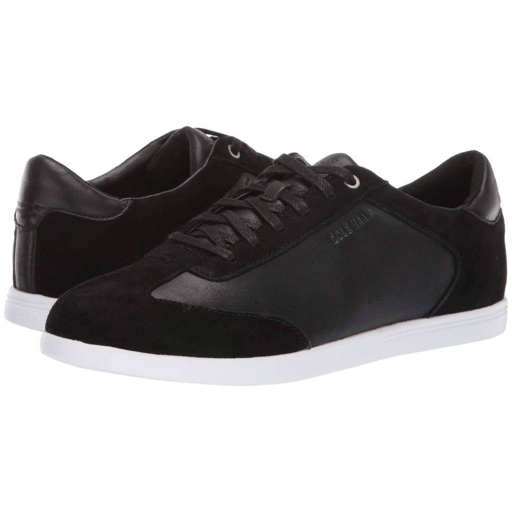 コールハーン Cole Haan レディース スニーカー シューズ・靴【Grand Crosscourt Turf】Black Leather/Suede/Optic White