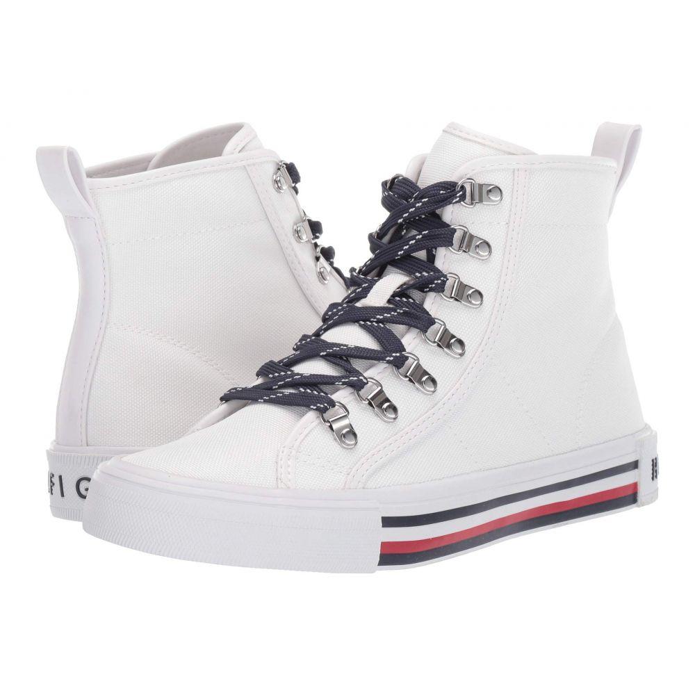 トミー ヒルフィガー Tommy Hilfiger レディース スニーカー シューズ・靴【Hero】White
