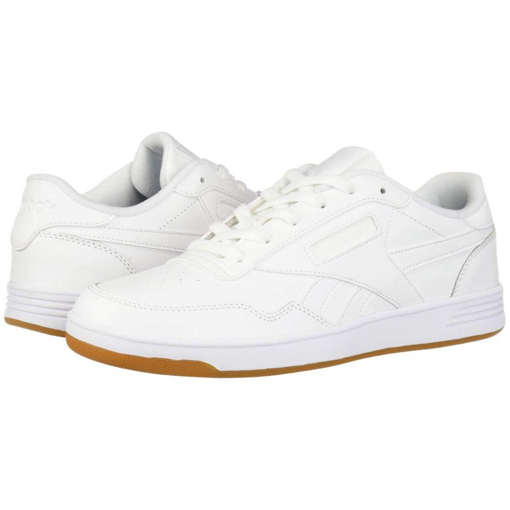 リーボック Reebok レディース スニーカー シューズ・靴【Club Memt】White/White/Reebok Rubber Gum