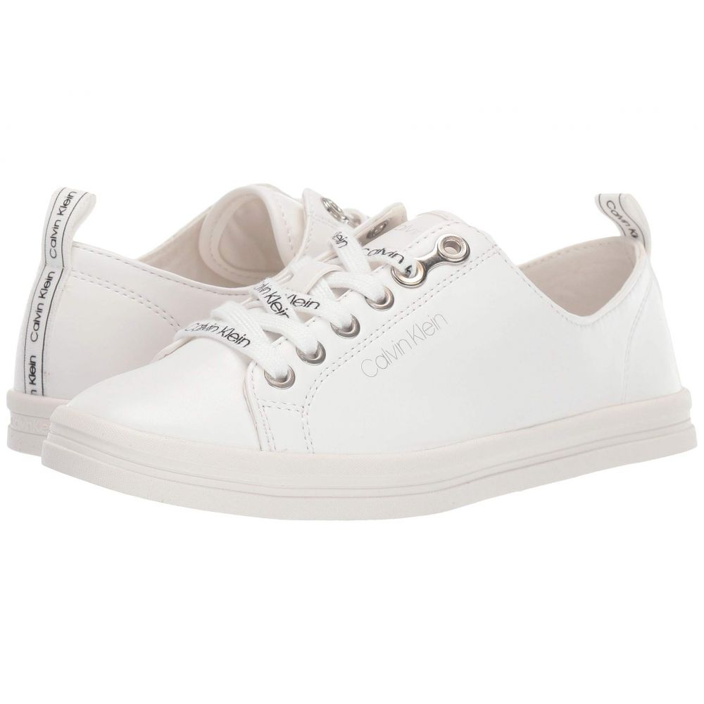 カルバンクライン Calvin Klein レディース スニーカー シューズ・靴【Maraselle】White