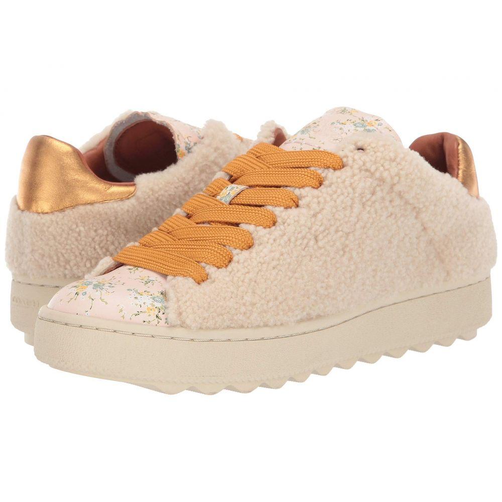 コーチ COACH レディース スニーカー ローカット シューズ・靴【C101 Low Top Sneaker】Natural