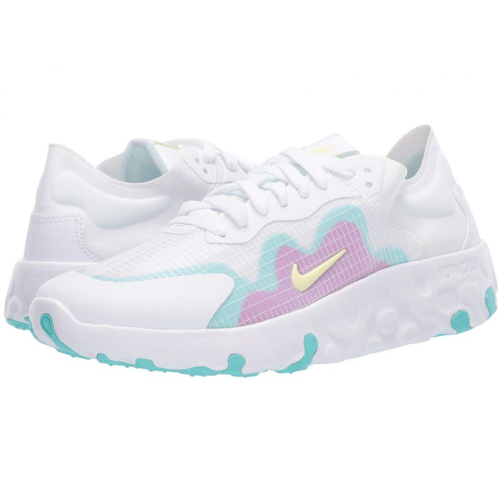ナイキ Nike レディース スニーカー シューズ・靴【Renew Lucent】White/Luminous Green
