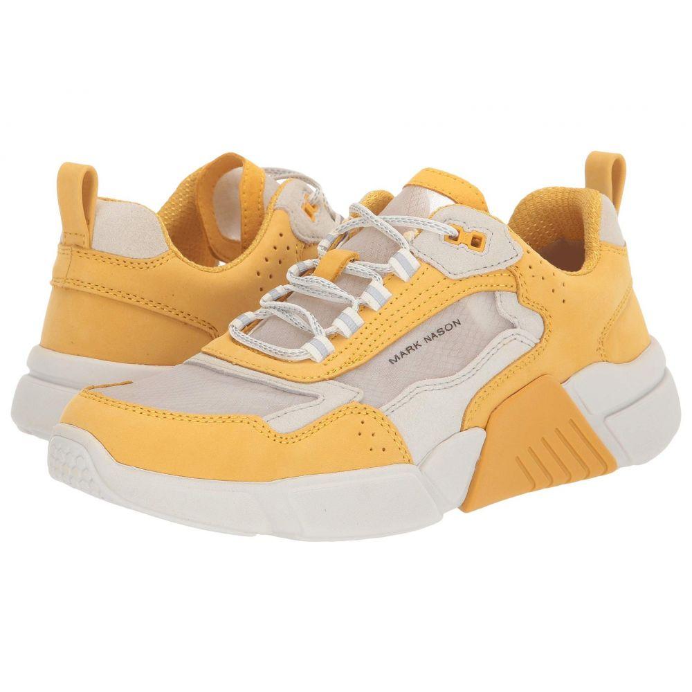 マークネイソン Mark Nason レディース スニーカー シューズ・靴【Block】Yellow/White