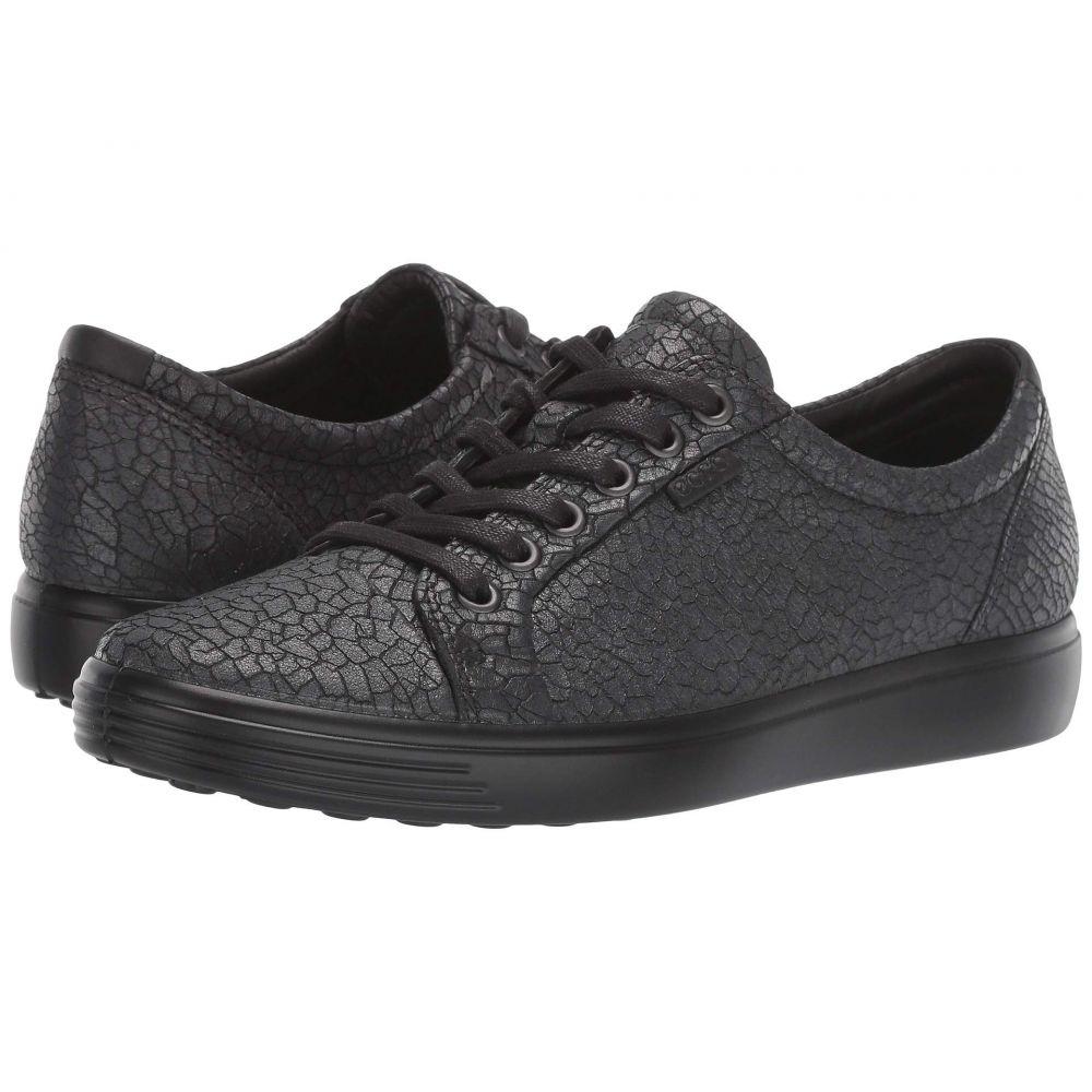 エコー ECCO レディース スニーカー シューズ・靴【Soft 7 Sneaker】Black/Dark Shadow