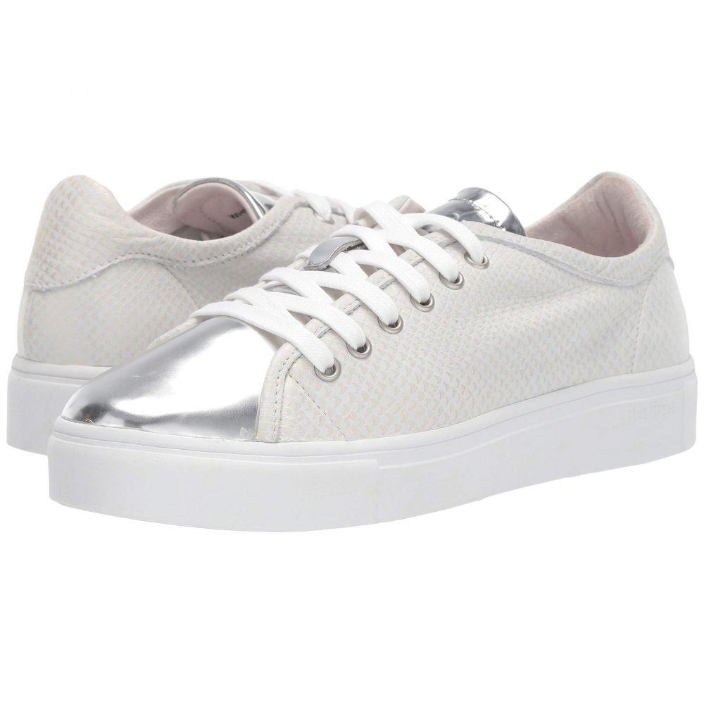 ブラックストーン Blackstone レディース スニーカー ローカット シューズ・靴【Low Sneaker - NL44】White Metallic