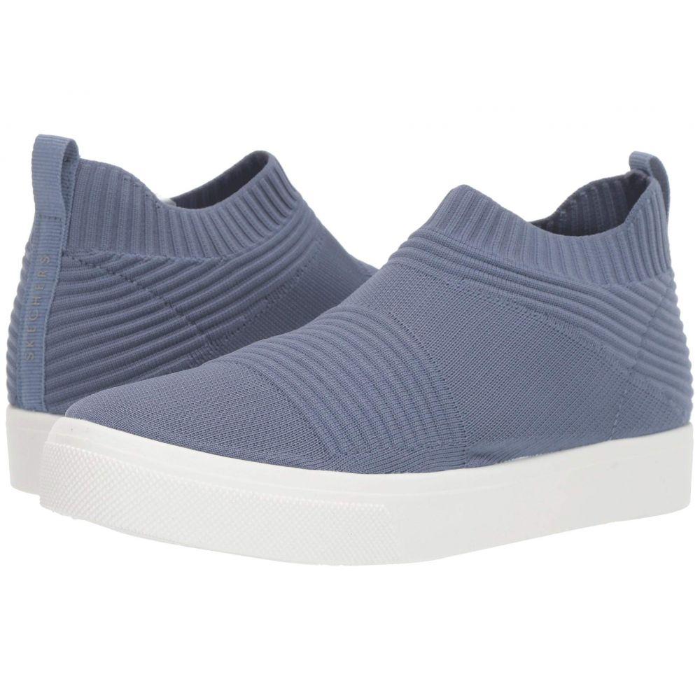 スケッチャーズ SKECHERS レディース スニーカー シューズ・靴【Poppy - Like Socks】Blue