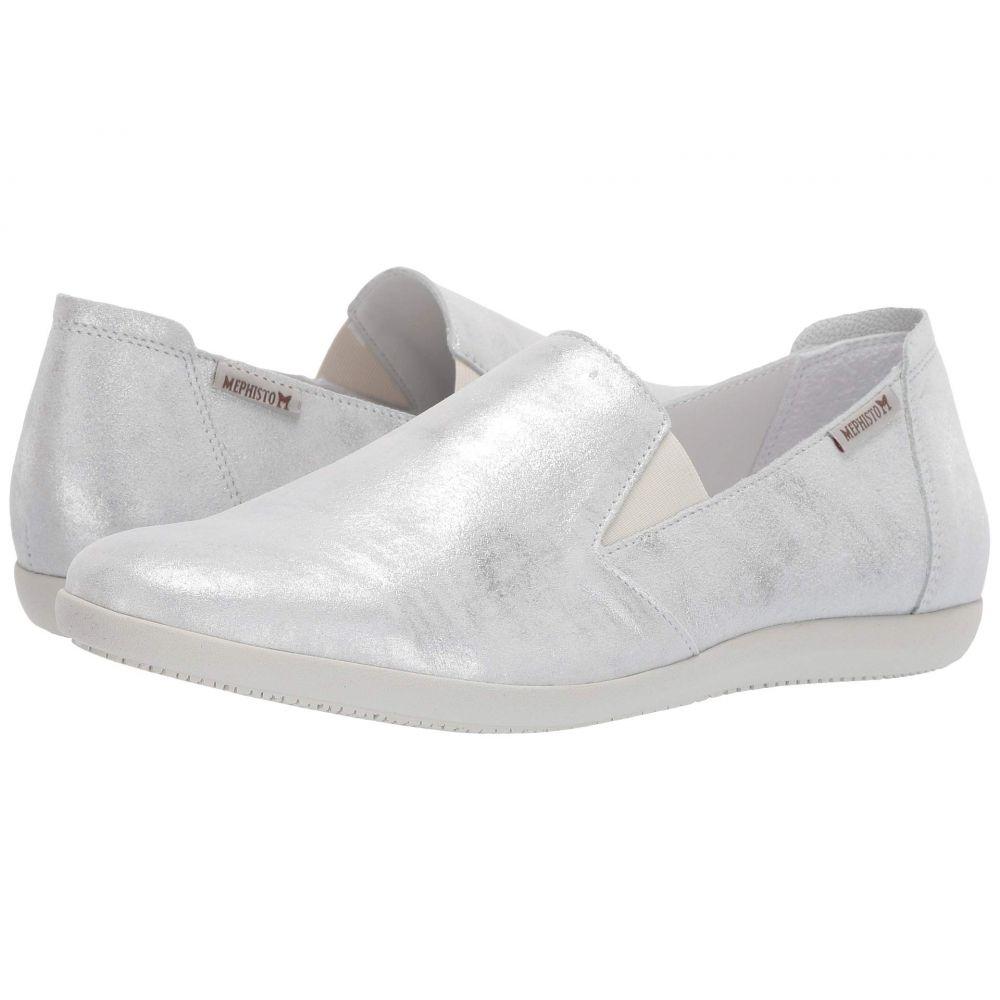 メフィスト Mephisto レディース スニーカー シューズ・靴【Korie】Silver Monaco