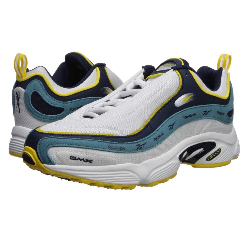 リーボック Reebok レディース スニーカー シューズ・靴【Daytona DMX Vector】White/Collegiate Navy/Mineral Mist/Go Yellow