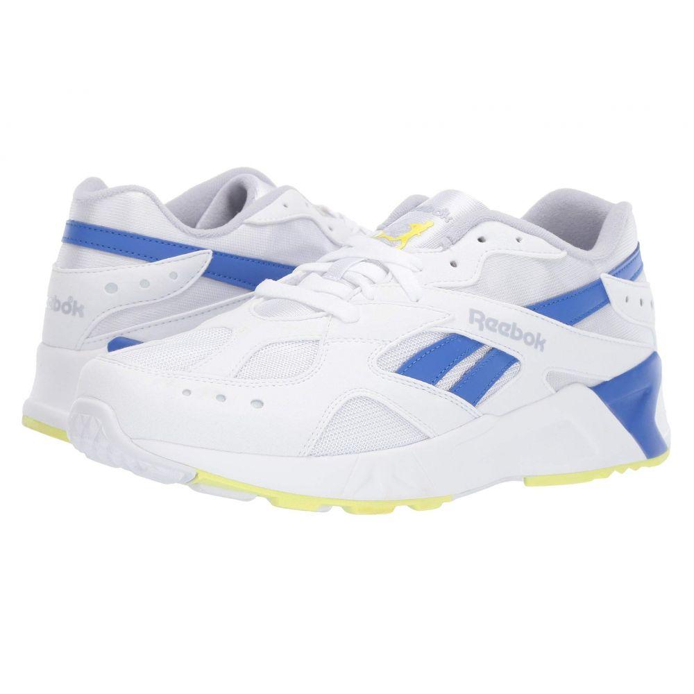 リーボック Reebok Lifestyle レディース スニーカー シューズ・靴【Aztrek】White/Cold Grey/Crushed Cobalt/Neon Lime