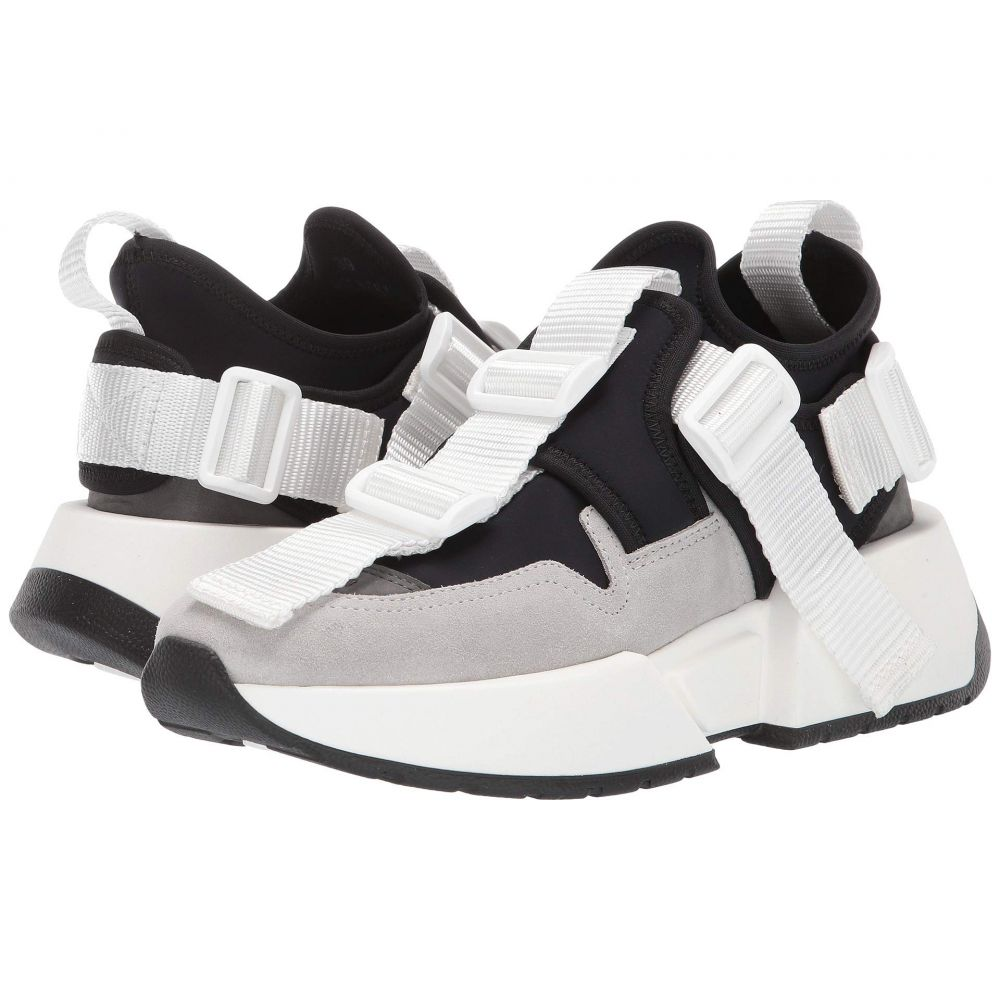 メゾン マルジェラ MM6 Maison Margiela レディース スニーカー シューズ・靴【Center Loop Sneaker】Jet Black/Steel Gray/Paloma